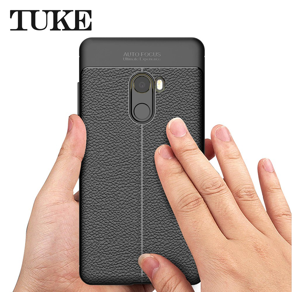 TUKE Ultra Slim Case For Xiaomi Mi Mix 2 Case Luxury Soft Silicone Gel Protection Cover For Xiaomi Mix 2 Shockproof Phone Cases