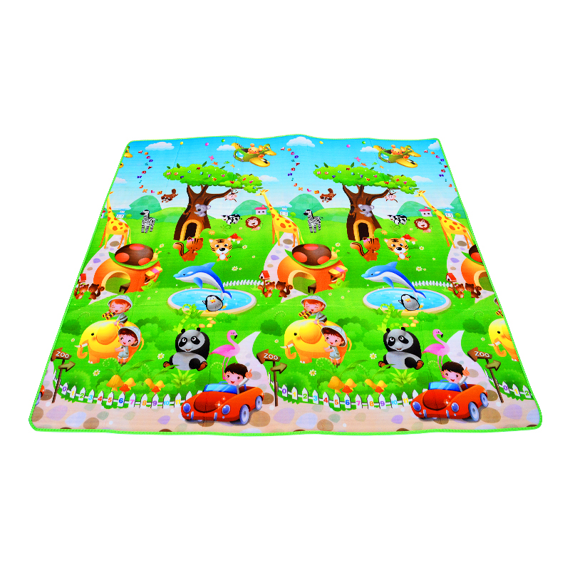 0.5cm Thickness Children's Rug Baby Playing Mats Soft EVA Foam Double Side Patterns Child Carpets For Kids Crawling Gym Mats