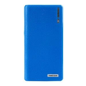 Image 3 - Banco de energía con USB Doble 6x18650, 1 unidad, cargador de batería de respaldo externo, caja para teléfono