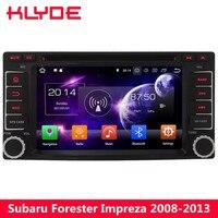 KLYDE 4G Android 8 7,1 Octa Core 4G B оперативная память 32 ГБ Гб встроенная DVD плеер автомобиля Радио для Subaru Forester Impreza 2008 2009 2011 2012 2013 2010