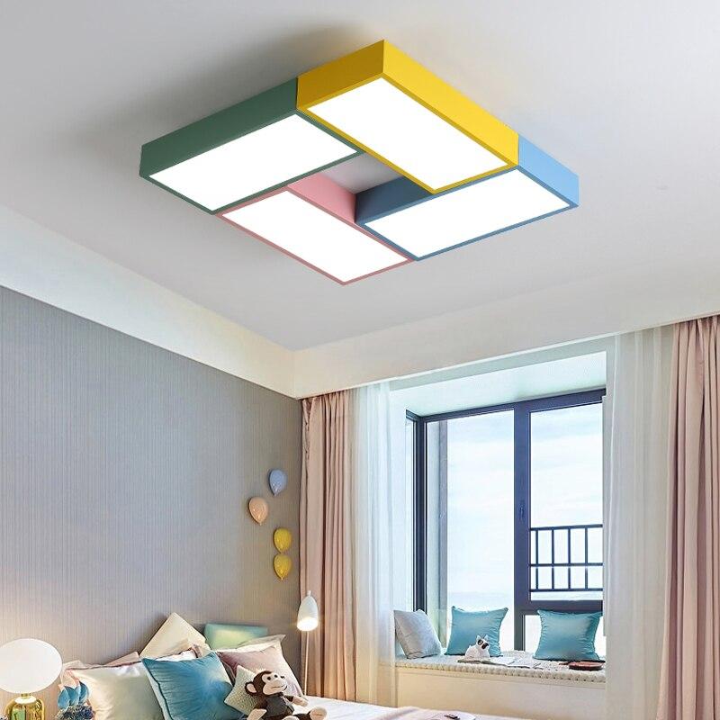 Enfants plafonnier Avec Télécommande pour Chambre Enfants lumières Luminaires de plafond décoration éclairage luminaires