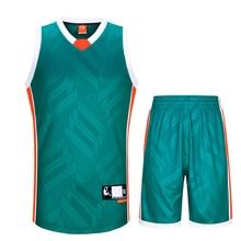 2016 Brand SANHENG Mens Summer O-Neck Sleeveless Throwback Basketball Jerseys Set 312AB