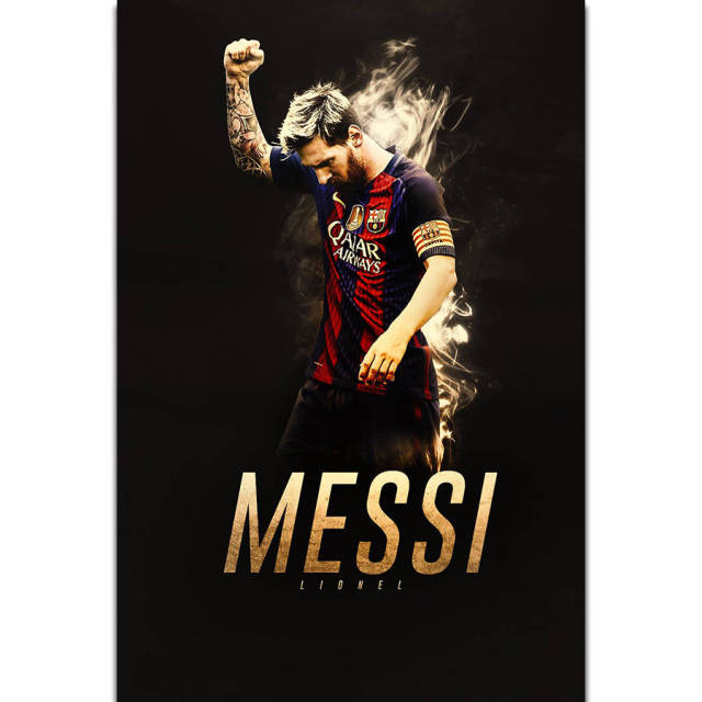 s2021 lionel messi football super soccer star sports wall art