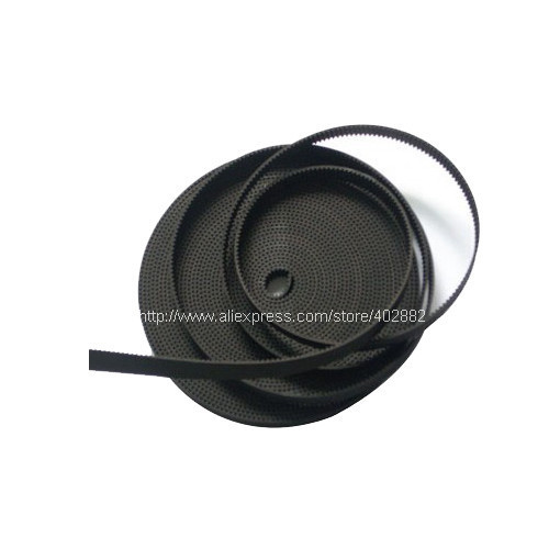 Free shipping 10meter /lot GT2 Width 6mm Open Ended Timing Belt GT2-6mm   for 3D printer belt for RepRap Mendel Rostock Prusa