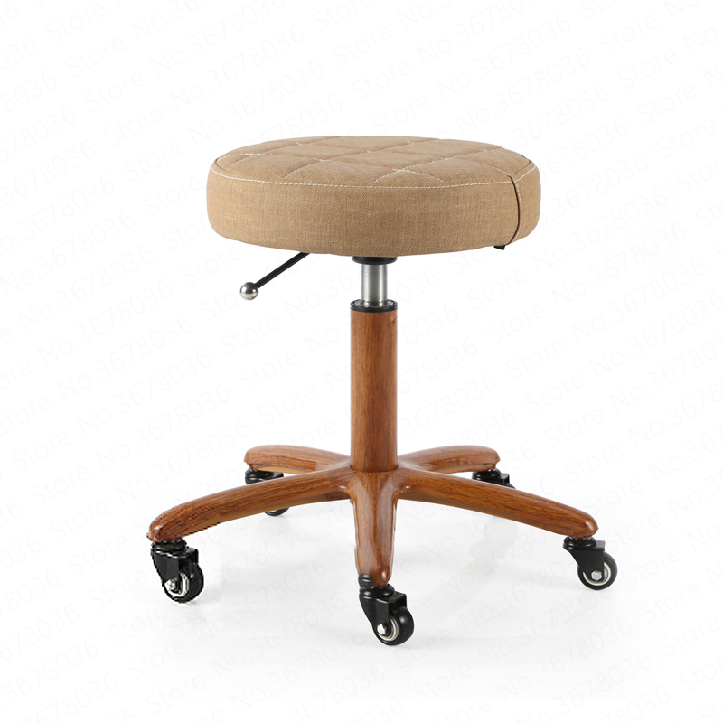 Bar Chair Cashier Bar Chair Round Stool High Stool Simple Backrest Lift Chair Rotating Beauty Chair