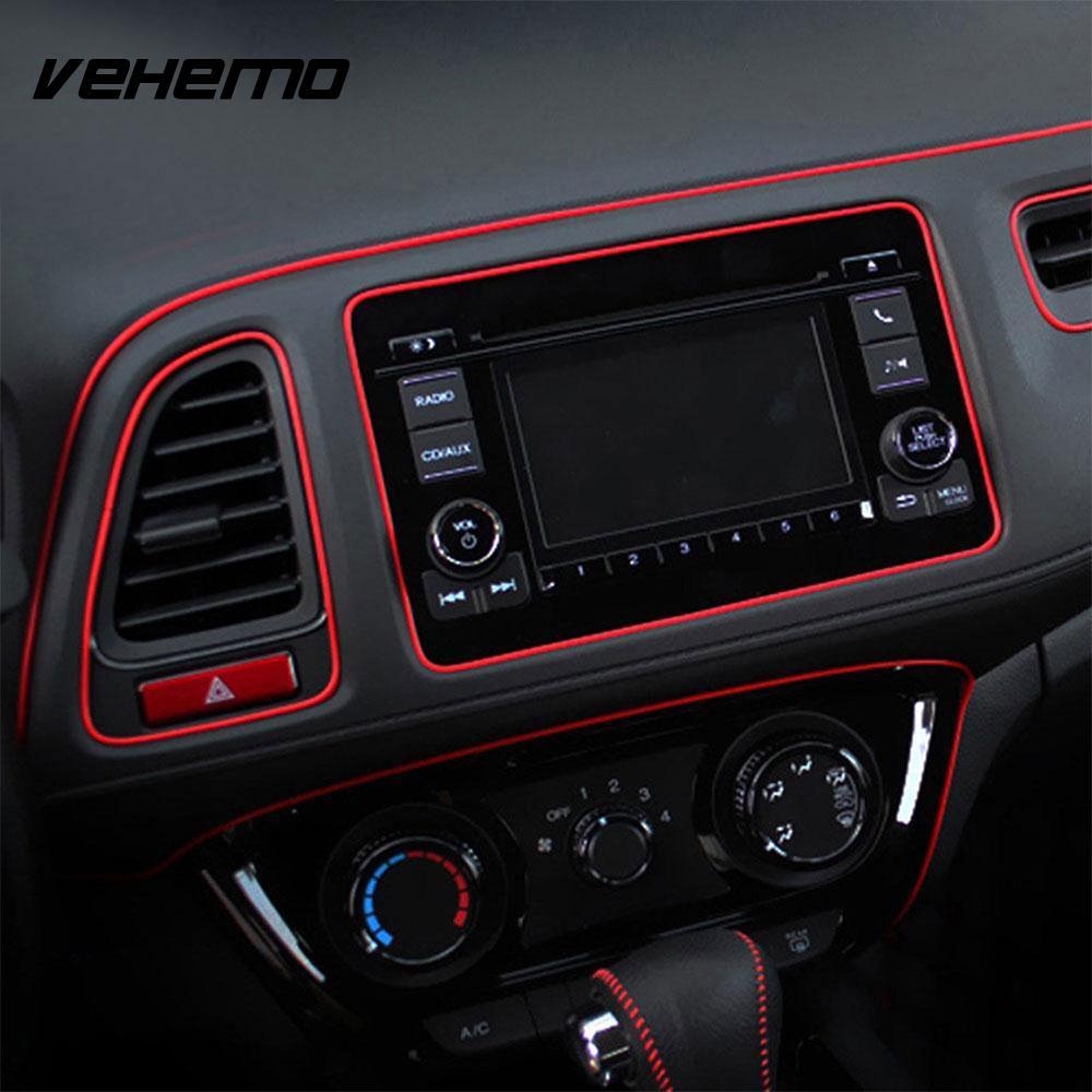 300CM Flexible Car Vehicle Interior Moulding Trim Strip Decoration Accessories