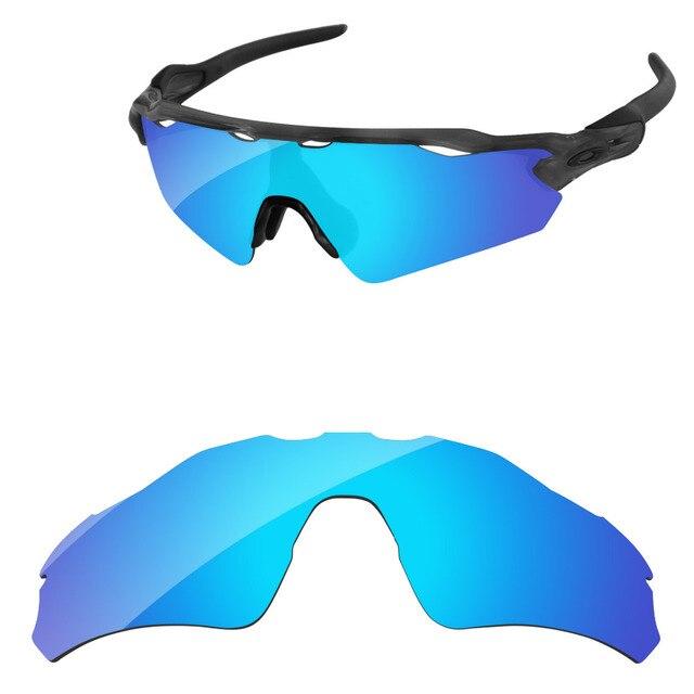 433f3420bd Azul hielo espejo polarizado lentes de recambio para el Radar EV camino  gafas de sol marco