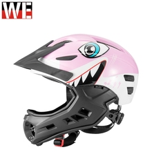 ROCKBROS NEW Motorcycle Children Helmet UltraLight Kids Motocross Helmets Outdoor Sports Riding Skating Protection Safety