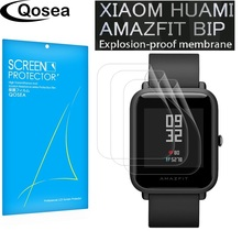 (3 PACK) For Xiaomi Huami Amazfit Bip BIT PACE Youth Lite SmartWatch Screen Protector Film 3X Clear LCD Guard Shield Cover Skin