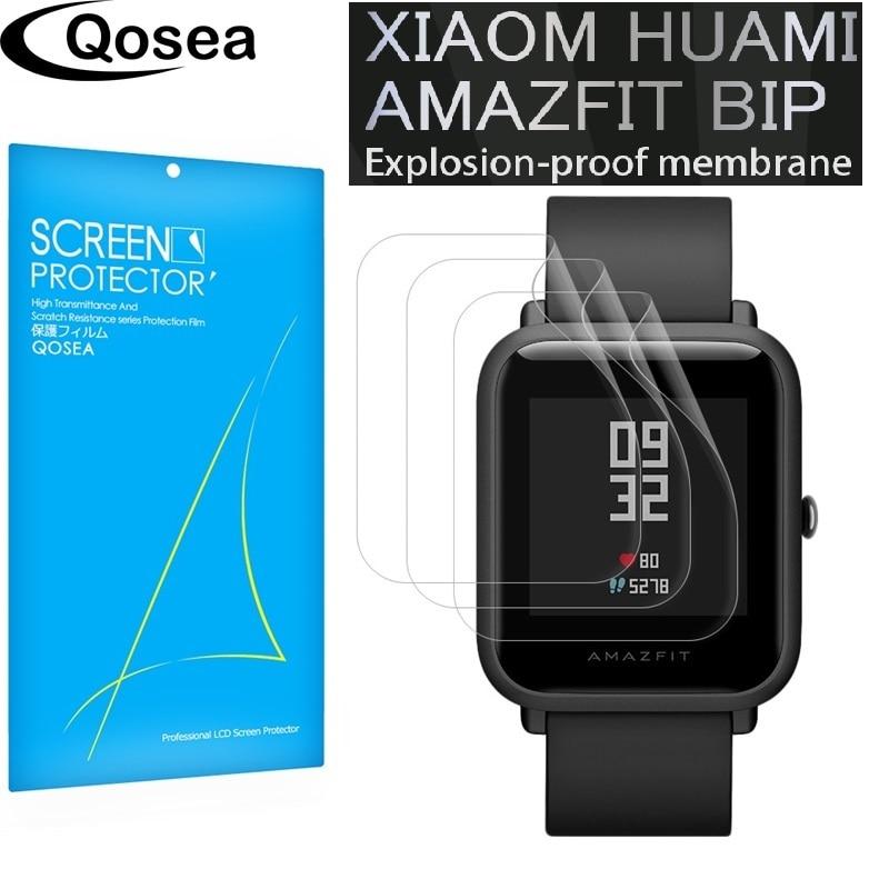 (3 PACK) pour Xiaomi Huami Amazfit Bip PEU RYTHME Jeunes Lite SmartWatch protecteur d'écran Film 3X Clear LCD bouclier de Peau de Couverture