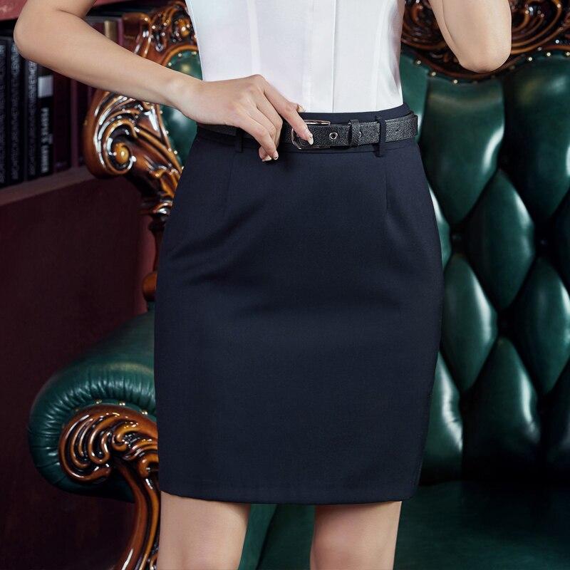 Skirts Womens Summer Office Lady Bodycon Black Skirt Plus Size Woman Pencil High Waist Skirt Elegant Woman Short Belt Skirts 3xl
