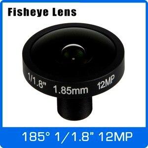 Image 1 - Objectif 4K 12 mégapixels Fisheye 1/1.7 pouces 185 degrés M12 objectif de montage 1.85mm pour IMX226 capteur Ultra 4K caméra livraison gratuite