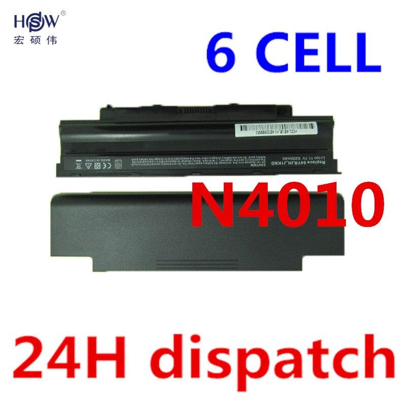 5200mAh font b laptop b font Battery j1knd for Dell Inspiron M501 M501R M511R N3010 N3110
