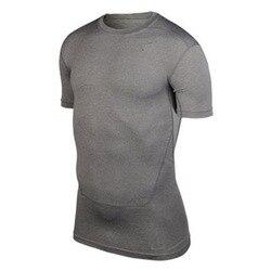 มาถึงผู้ชายฐานการบีบอัดTeeเสื้อแข็งแรงTopsกีฬาคอลเลกชันS-XXLใหม่