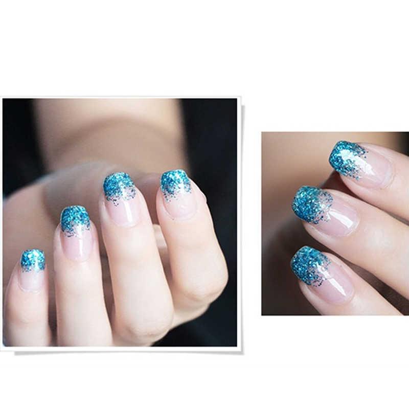 Profesjonalny projekt 8 ML diamentowy brokat UV świeci żel do paznokci polski wspaniały złoty brokat żel do zdobienia paznokci utwardzany promieniami UV lakier