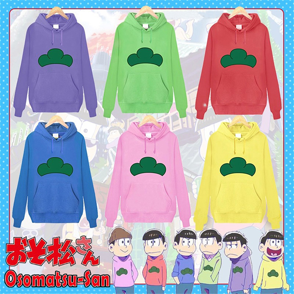 Osomatsu-San Long Girl Dress Hooded Hoodie Sweater Cute Pullover Cosplay Costume