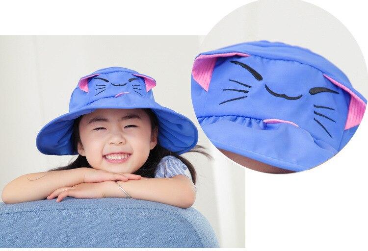crianças balde chapéu criança dos desenhos animados