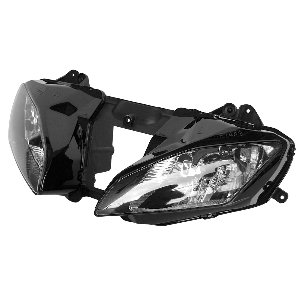 Clear Motorcycle Front Head Light lamp For 2006-2007 Yamaha YZF-R6 YZFR6 06 07