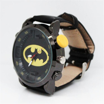 Часы с эмблемами героев марвел и DS Comics