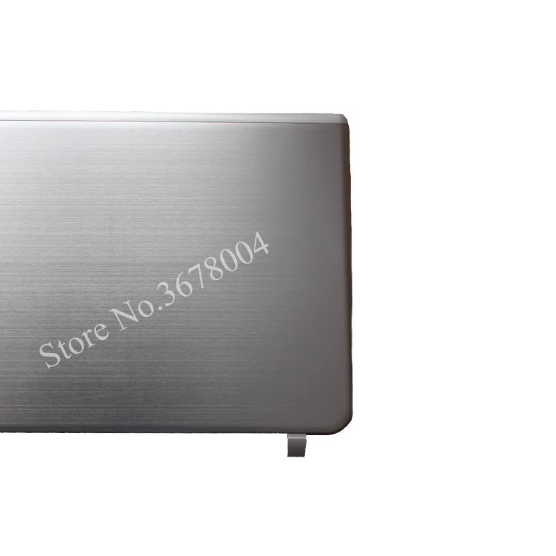 New LCD BACK <font><b>COVER</b></font> For <font><b>TOSHIBA</b></font> <font><b>L50</b></font>-B L55-B S55T-B S55-B LCD top <font><b>cover</b></font> case silver image