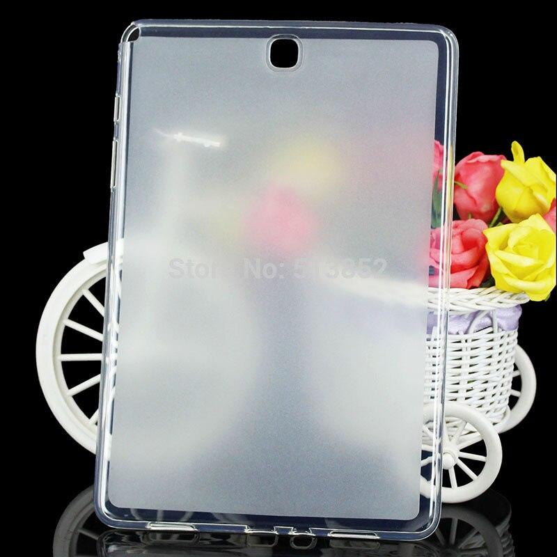 Чехол для Samsung Galaxy Tab A T550 T555 P550 p555 9.7 дюймов Высокое качество Пудинг Нескользящие мягкие силиконовые ЗАЩИТА ТПУ ...