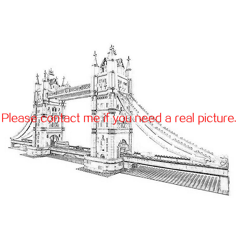 IN STOCK LELE 30001 4295PCS 17004 London Bridge 17005 30001 4164Pcs Big Ben Tower Model Building