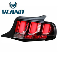 VLAND Factory For Car Tail Lamp For Mustang LED Taillight 2010 2011 2012 2014 Mustang Tail Light With Moving Signal USA Version