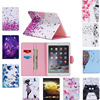 Fashion High Quality Butterfly Painted Flip PU Leather SFor IPad Air 2 Case For Apple IPad