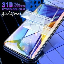 31D Full Protective Screen Hydrogel Film On The For Xiaomi 9 SE A2 Lite Protector Redmi 5A Note 5 6 7 K20 Pro Go