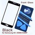 Frontal negro cristal para Samsung A5 A5000 roto exterior de reemplazo de lentes con reparación 8 herramientas + 3 M adhesivo! envío gratis