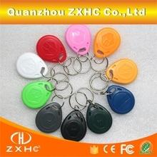 (100PCS/LOT) T5577 125khz Programmable RFID Smart Tags Rewritable Keys Waterproof Number2 Keyfobs