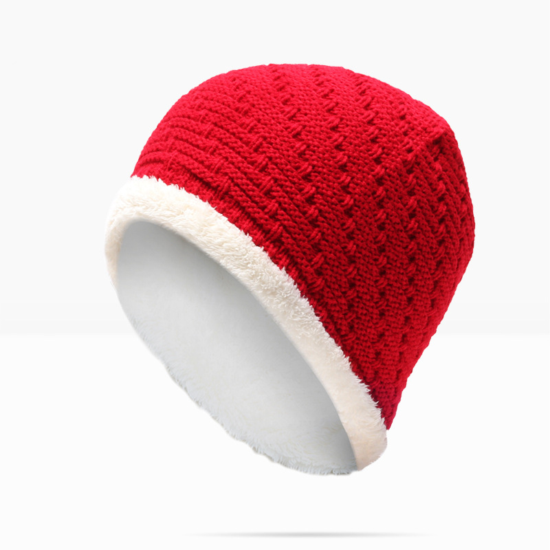 Winter Hat Direct Adult Solid Unisex Selling Man And Woman 2017 New Fashion Warm Knitted Korean Style Skullies&beanies Cap For free shipping 2016 new 1pcs wholesale diamond grid stripe knit cap man and a woman in winter warm hat 100% quality assurance