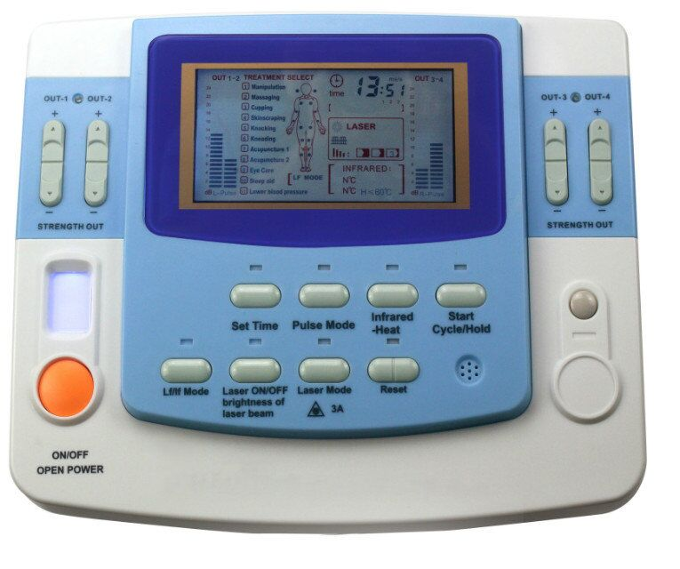 EA-VF29 integrated ultrasound acupuncture beauty&therapy machine with laser,AC&DC,CE,ISO 13485 approved kupo vf 01