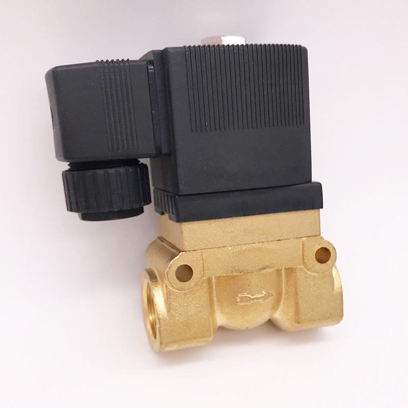 50bar high pressure high temperature solenoid valve 1 4 3 8 1 2 BSP 12V 24V