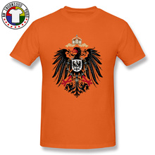 German Empire Eagle Flag T Shirt Designs America Europe Plain Tshirts Orange Independence Day Mens Print T-Shirts