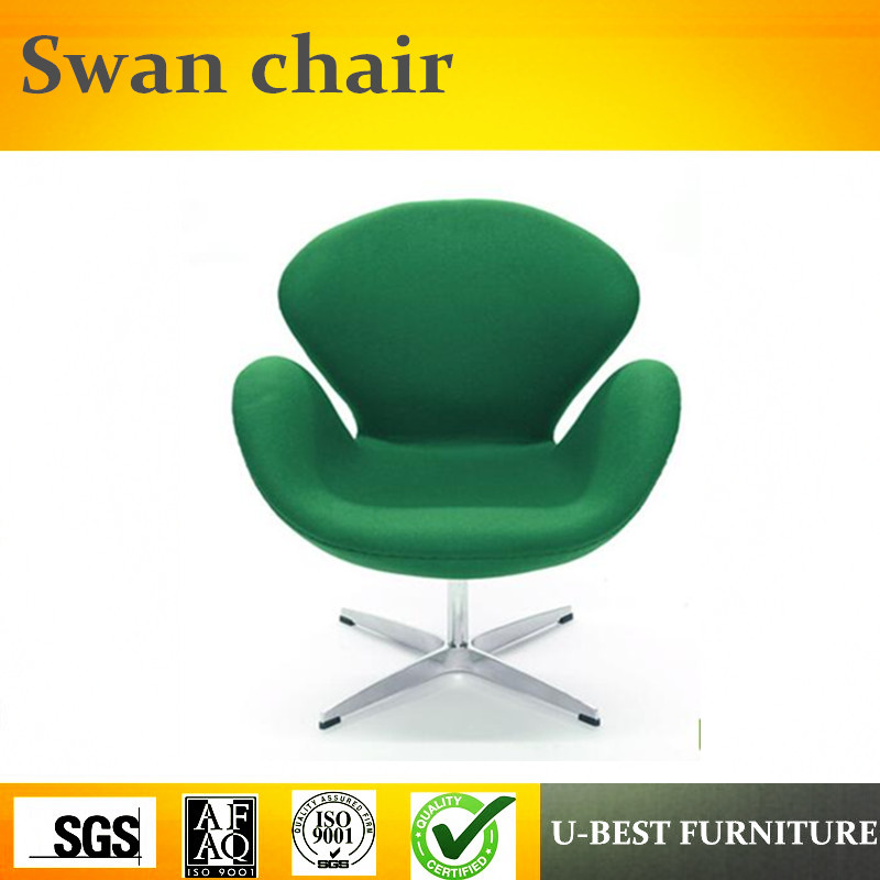 U BEST high quality fabric swan chairoffice leisure fiberglass lounge chair Lift Swivel Swan Chair with Metal Base-in Chaise Lounge from Furniture on ...  sc 1 st  AliExpress.com & U BEST high quality fabric swan chairoffice leisure fiberglass ...