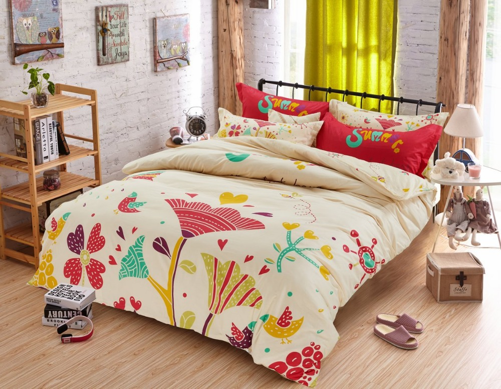 Adult Twin Bed Comforter Sets Flowers