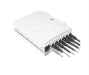 Image 2 - FirstFiber FTTH 6 cores fiber Termination Box 6 port 6 channel Splitter Box indoor outdoor fiber Optical Splitter Box FTB ABS