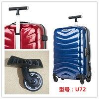 luggage accessories wheels U72 trolley universal wheel JY 105 JY 106 wheel lever lock repair part replacement large small wheel