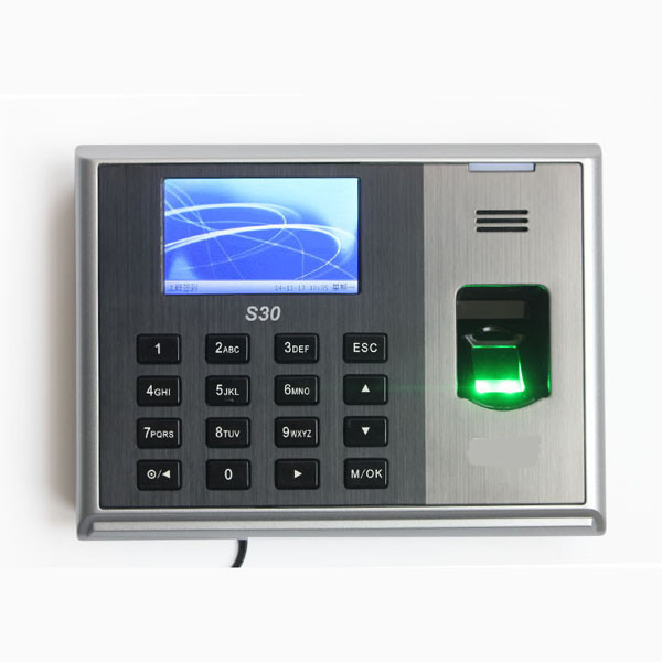 RS232/485 TCPIP USB host Employee Fingerprint Time Attendance