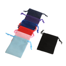 50 шт./лот 5x7 см 7x9 см x 10x12 см с цветным бархатный мешок упаковка Ювелирных Изделий Бархатный шнурок мешочки подарочные пакеты могут быть настроены свадебные сумочки