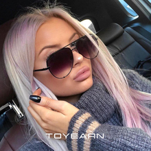 2019 New Fashion Brand Designer Ladies Pilot Sunglasses Women Men Goggle Gradien