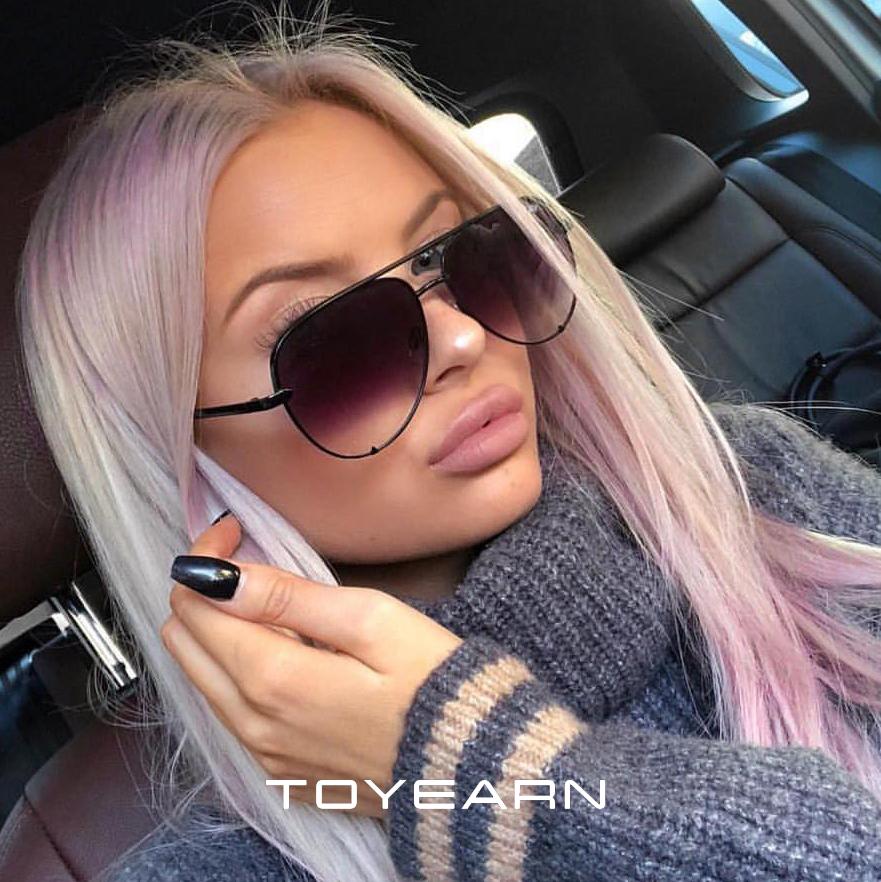 2020 New Fashion Brand Designer Ladies Pilot Sunglasses Women Men Goggle Gradient Sun Glasses For Female Mirror Shades UV400