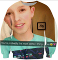 Sping Autumn Jacob Sartorius Crewneck you're probably the most perfect thing 3d Printed Sweats Hoodies Sweatshirt Men Clothing