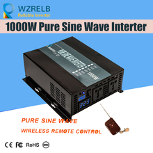 Off Grid Pure Sine Wave Solar Inverter 24V 220V 1000w Car Power Inverter 12V DC to 100V/120V/240V AC Converter Power Supply 3000w solar inverter 24v to 220v pure sine wave inverter car power auto battery voltage converter 12v 48v dc to 110 120v 220v ac