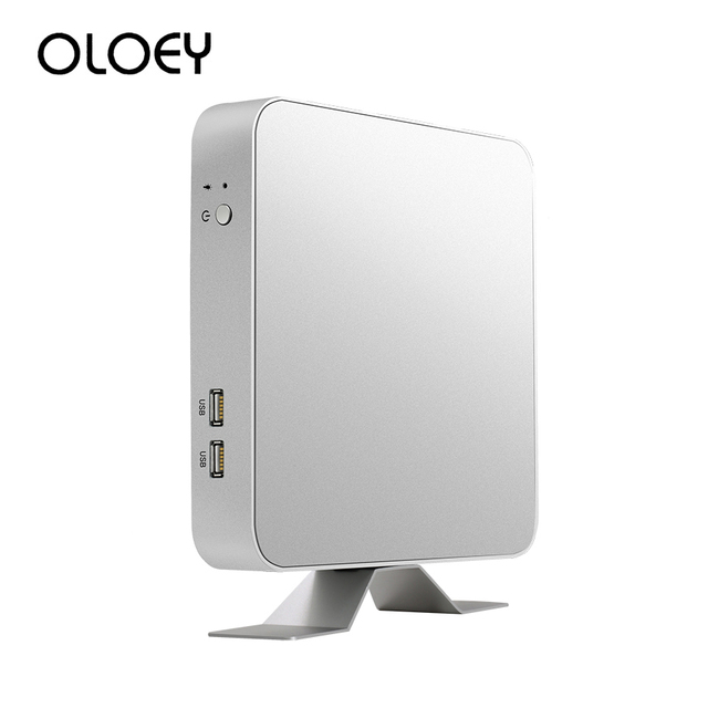 OLOEY Mini PC Intel Core i7 7500U i3 i5 Windows 10 Office Linux HTPC Thin Client Desktop Minipc Micro 4K Nuc Computador Computer