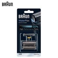 Braun 51B WaterFlex Foil & Cutter Higi Performance Part Shaver Head Replacement Suitable for WaterFlex WF1S WF2S 5760 5758