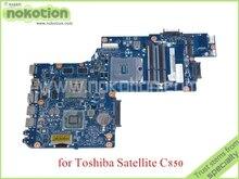 NOKOTION neue H000038410 Für toshiba satellite C850 Laptop motherboard HD4000 ATI HD7600M Grafiken HM77 DDR3