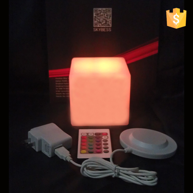 D10cm свет куб привело крытый свет куб водонепроницаемый привело куб Стул освещение бесплатный shipping1pc