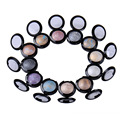 Professional Makeup Pigment Minerals Single Eyeshadow Shimmer Metallic Cosmetics Nude Eye Shadow Powder Palette Maquiagem